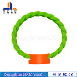 Waterproof RFID Silicone Wristband for Swimming Pools