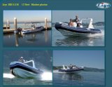 Liya 5.2m Small Fiberglass Inflatable Ferry Boat for Sale