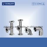 Bpe Ss316L Sanitary Short Type Tri- Clamp Reducing Tee (DT-14)
