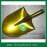 Shovel Golden Color Railway Steel Shovel Spade