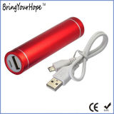 Red Color Cylinder Power Bank (XH-PB-004)