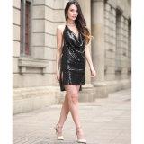 2017 New, Evening Sexy Sequins Dress, Wholesale Hot Dress (A172)