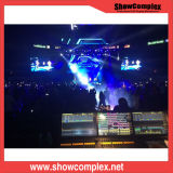 P3.9 Video Display Screen Big LED Video Stage Setting for Rental