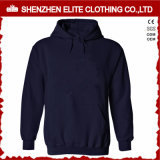 Hot Selling High Quality Navy Blue Hoodies Women Pullover (ELTHI-23)