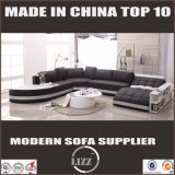 2017 Living Room Furniture Modern Leather Sofa Set with Leisure Design