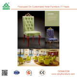 Hotel Room Furniture Antique Armless Wooden Chair