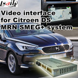 Car Video Interface for Citroen Ds Smeg+ or Mrn System Ds3 Ds4 Ds5 Ds6 etc, Android Navigation Rear and 360 Panorama Optional