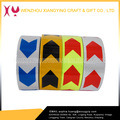 2016 New Fashion Moisture Proof Yellow and Black Reflective Arrow Sticker