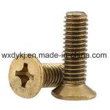 Phillips Countersunk Brass Screw