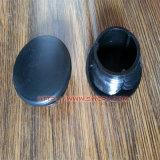 Black PP Plastic Round Screw Cap/Plug for Pipe