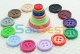 100% Resin 4-Hole Buttons with Different Candy Colors