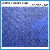 5mm Blue Nashiji Glass Figured Glass 1830*2440mm