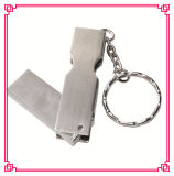 Metal Swivel Keychain Promotion 4GB USB Flash Drive (EM221)