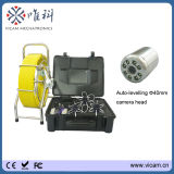 Underwater Portable Sewer Camera with 60m Fiberglass Cable
