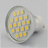 LED Spot Light SMD LED Spotlight (GU10-19SMD-ALU)