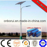 with Lithium Battery Solar Street Light 01 Ce RoHS ISO for Parking Lot Residential Areas Bridge Highway Andsquare