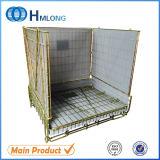 European Lockable Pet Preform Wire Mesh Container