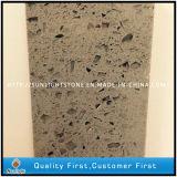 Grey Artificial Quartz Stone Tiles for Kitchen and Bathroom