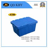 X199 Lockable Stackable Logistic Plastic Storage Box Container