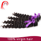 Hair Deep Curly 100% Virgin Peruvian Hair Weft Machine Weft