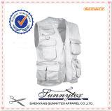 OEM Fishing Vest with Functional Pockets Men Vest