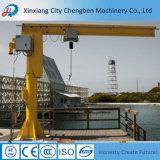 Workshop Fixed Slewing Jib Crane with Electric Chain Hoist