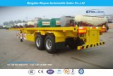 2 Axle 40FT 30.5ton Skeleton Container Semi Trailer or Skeletal Container Chassis with Fuwa Axle and Wabco Valve