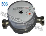 Single Jet Dry Dial Water Meter with Pulse Availible