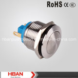 Hban CE RoHS (19mm) 2 Pin Momentary Push Button Switches