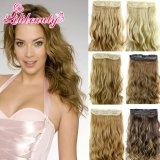 Hot Clip in Hair Extension Five Clips Synthetic Hair Clip