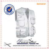 OEM Wholesale Workwear Multi Pocket Men Vests Fishing Vest