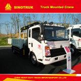 6.3ton Crane Truck HOWO 4X2 Truck Mounted Crane