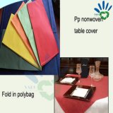 One Time Using PP Nonwoven Table Cover for Restaurant Dining Room
