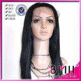 Brazilian Human Hair Glueless Full Lace Wigs Blonded Color