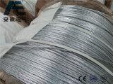 Alumoweld Aluminum-Clad Steel Overhead Wire, ASTM Ground Wire, Alumoweld Power Cable