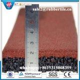 Gym Rubber Flooring Mat / Garage Gymnasium Flooring Tile