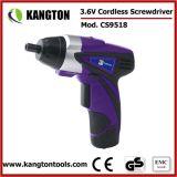 3.6V Lithium Cordless Screwdriver