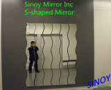 Sinoy S3000 Series Waterproof Decorative Long Wave Mirrors, S Shaped Mirrors / S-Shaped Mirror Glass / Wavy Mirrors for Home Decors, Bathroom Decoration, etc.