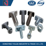 Carbon Steel Black T Head Bolt with Nut