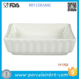 White Ceramic Fish Bowl Pet Accessories Wholesale China