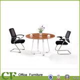 China Manufacturer Office Wooden Furniture Metal Frame Tea Table (CD-83305)