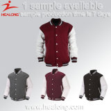 Healong Sportswear Light Weight Sublimation Printing Man Baseball Jacket