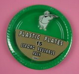 Disposable Plastic Plate (08869)
