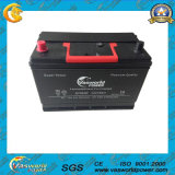 JIS 12V75ah Mf Car Lead Acid Battery with ISO CE