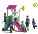 2014 Hot Selling Outdoor Children Amusment Playground Slide with TUV Certificate (QQ-MN003)