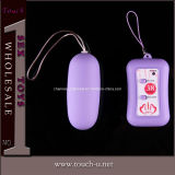 Clitoral Stimulator Remote Control and 38 Frequncy Jump Egg (TEL002F)