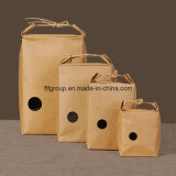 Foldable Crafted Printed Food Paper Bag (FBXH2007)