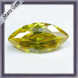 Yellow Marquise Shining CZ Gemstone (STG-51)