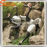 Garden Decoration Sculpture Artificial Crafts Fiber Glass Birds