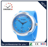 Silicone Wristwatch Bracelet Watches Slap Watch (DC-918)